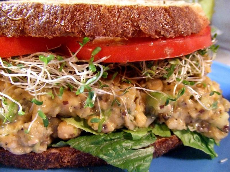 Chickpea-Tuna-Salad-Sandwich
