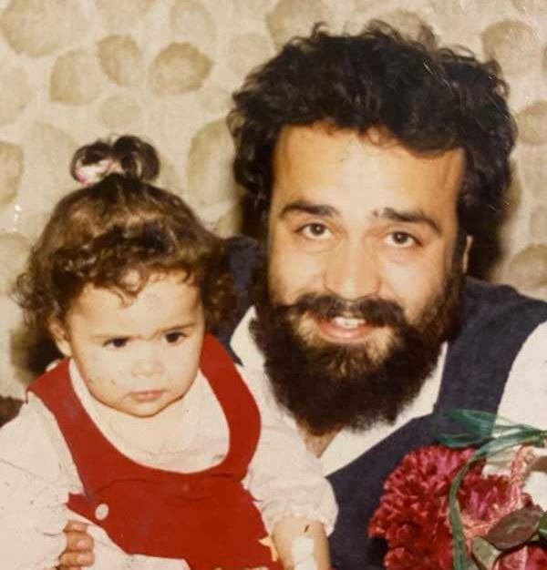 جوانی محمدرضا شریفی نیا و دخترش ملیکا