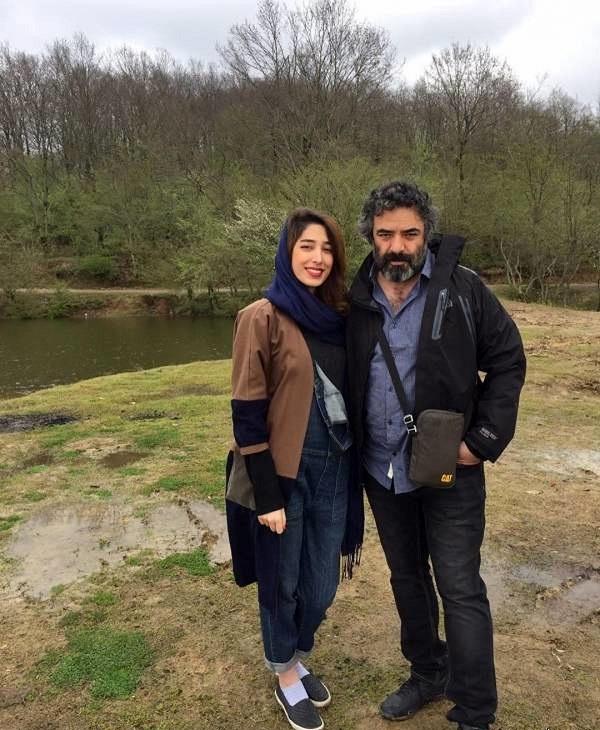 حسن معجونی و همسرش