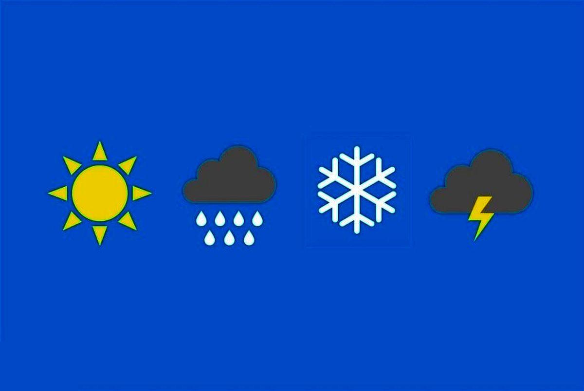 پیش بینی هواشناسی امروز چهارشنبه 29 بهمن/برف و باران