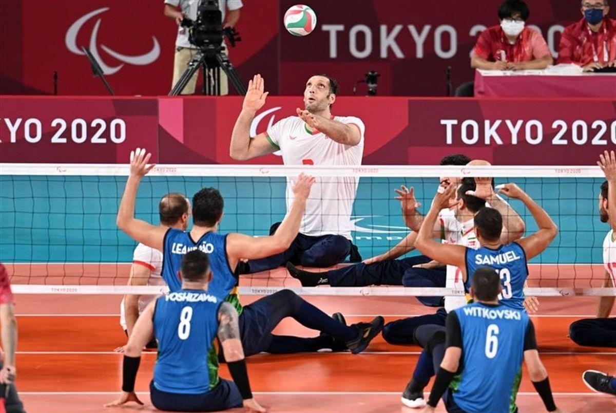 (ویدیو) خلاصه فینال والیبال نشسته پارالمپیک 2020 ایران – روسیه