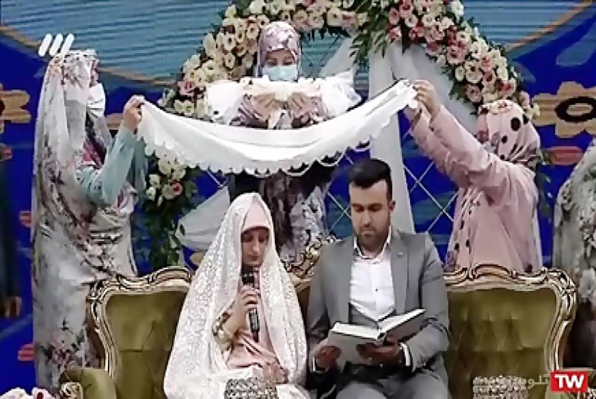 مراسم عقد زوجی نو