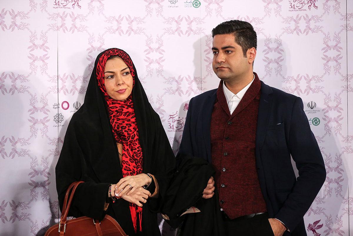 آخرین وداع سجاد عبادی با همسرش آزاده نامداری