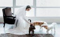 استوری همسر جدید پیمان قاسم خانی و قربون صدقه رفتنش!