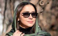 بهاره کیان افشار با مانتو، شال خاص و چهره ای پر احساس | عکس