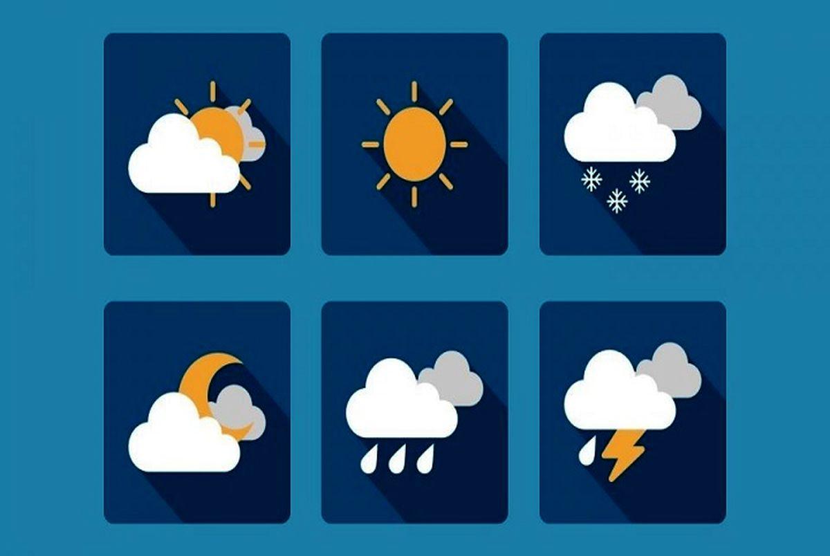 پیش بینی هواشناسی امروز دوشنبه 27 بهمن/بارش برف و باران