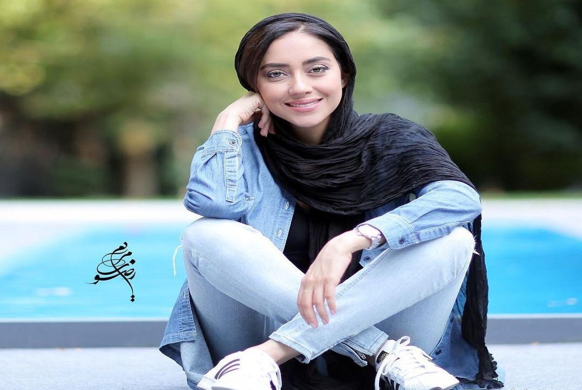 (عکس) تیب عجیب بهاره افشاری بازیگر که سوژه شد!