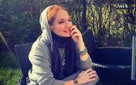 عکس مهناز افشار در کنار حیوان خانگی اش!