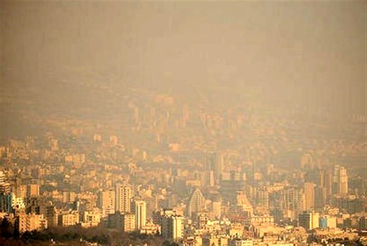 تداوم آلودگی هوای البرز و افزایش دما