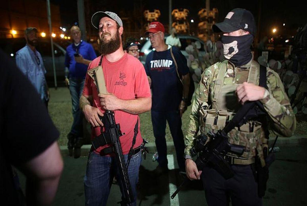 هشدار اف بی آی: احتمال اعتراض مسلحانه هواداران ترامپ در ۵۰ ایالت آمریکا
