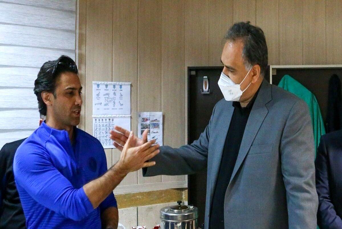 فرهاد مجیدی و احمد مددی