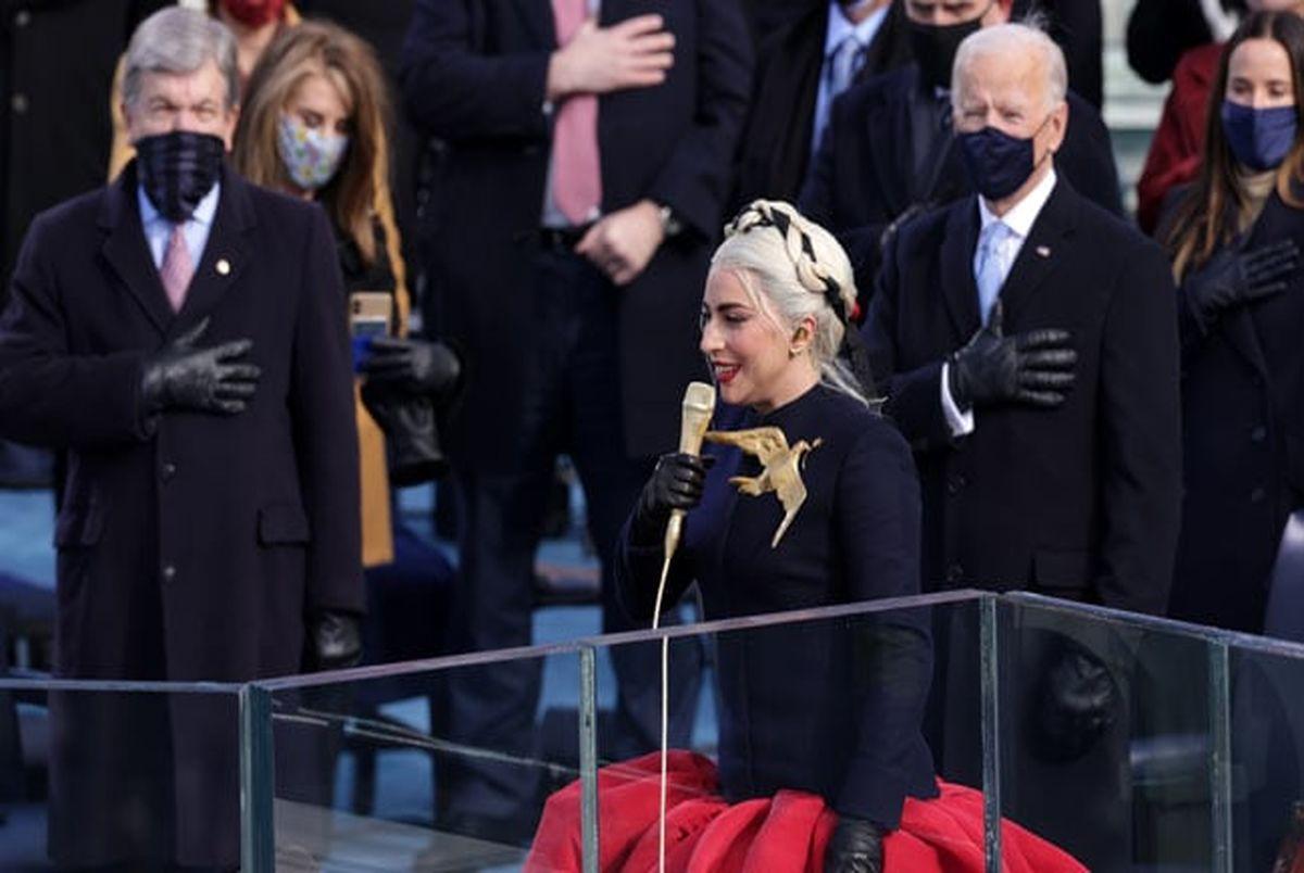 (تصاویر) چهرهها در مراسم تحلیف جو بایدن