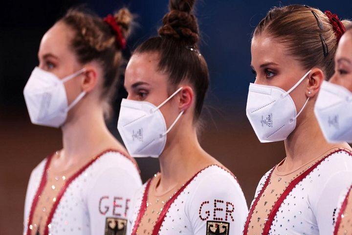 لباس پوشیده تیم ژیمناستیک زنان آلمان +تصاویر