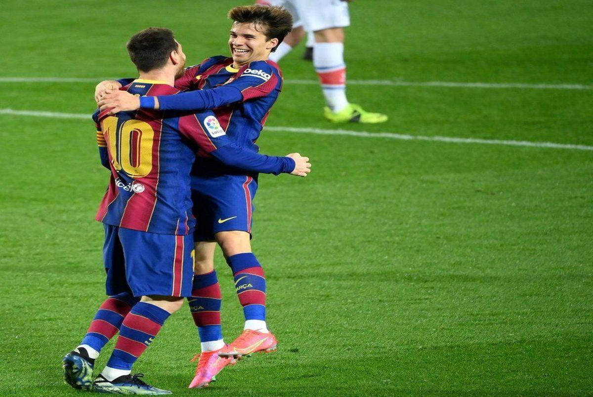 خلاصه بازی بارسلونا و آلاوس