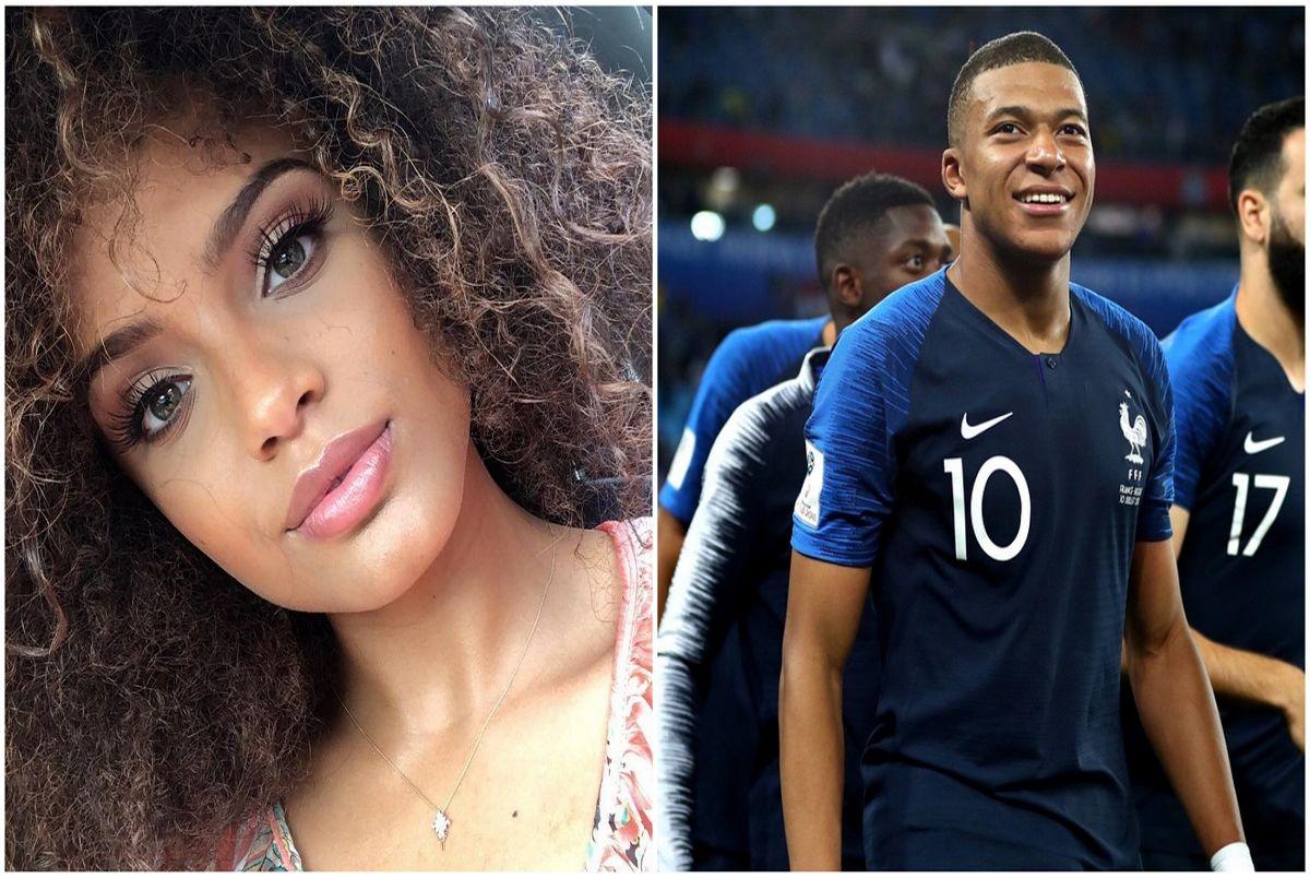 (عکس) دختر شایسته فرانسه نامزد ستاره فوتبال