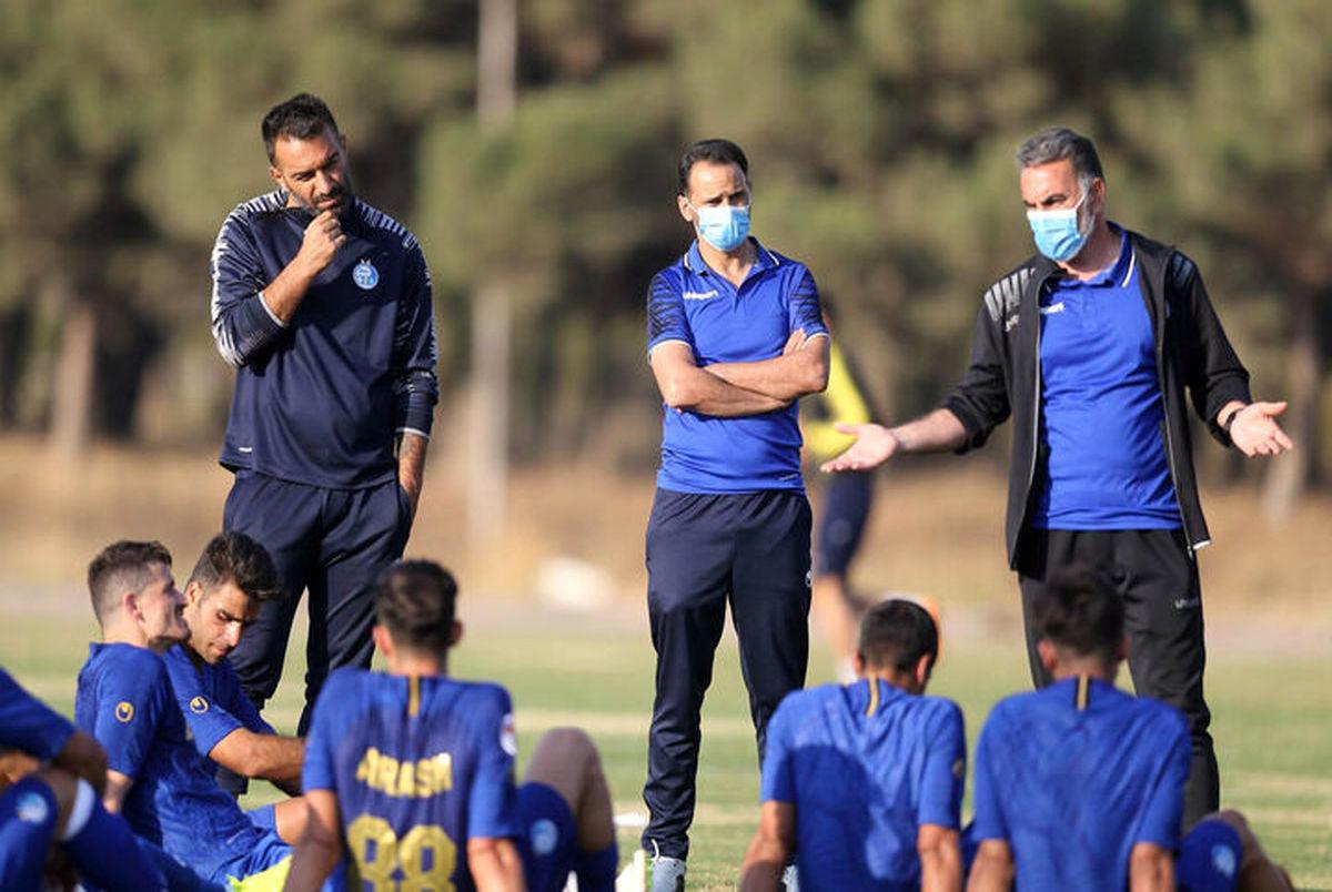 اتمام حجت سرمربی استقلال با بازیکنانش