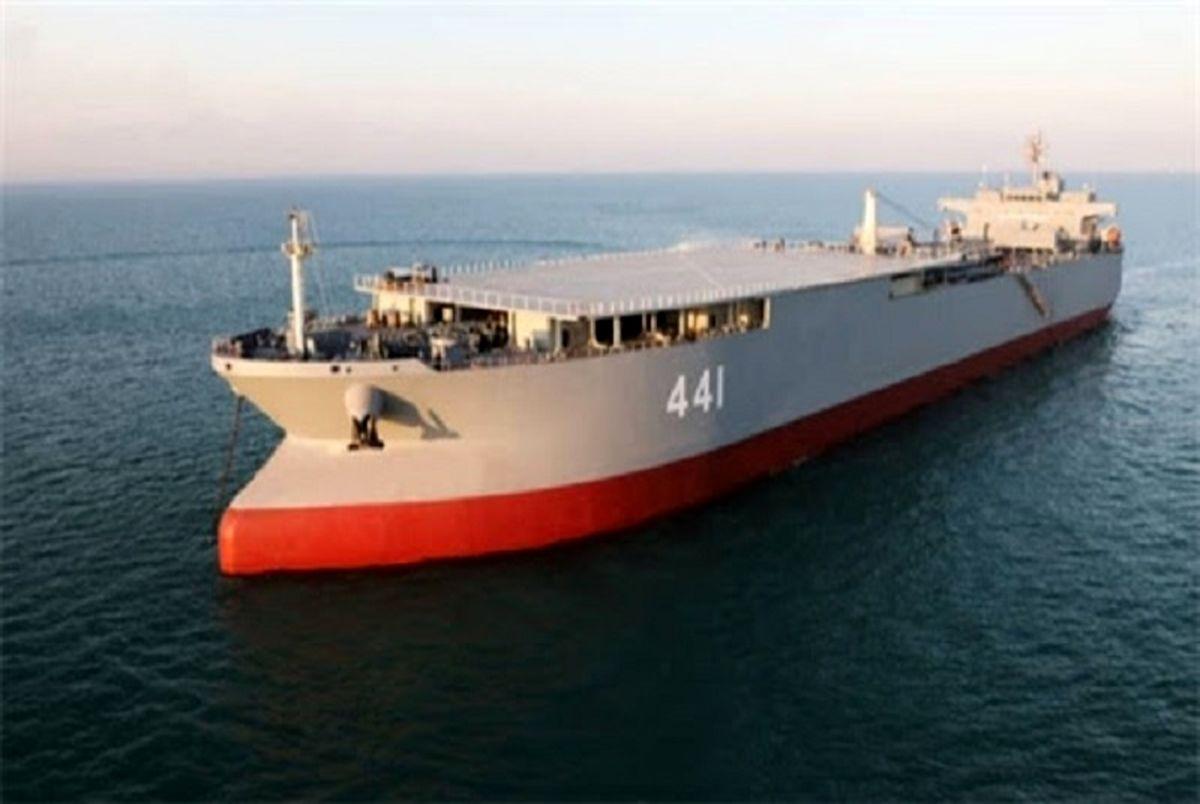 ناو بندر مکران به نیروی دریایی ارتش ملحق شد