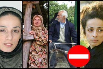 حضور والدین مسیح علینژاد در انتخابات + عکس
