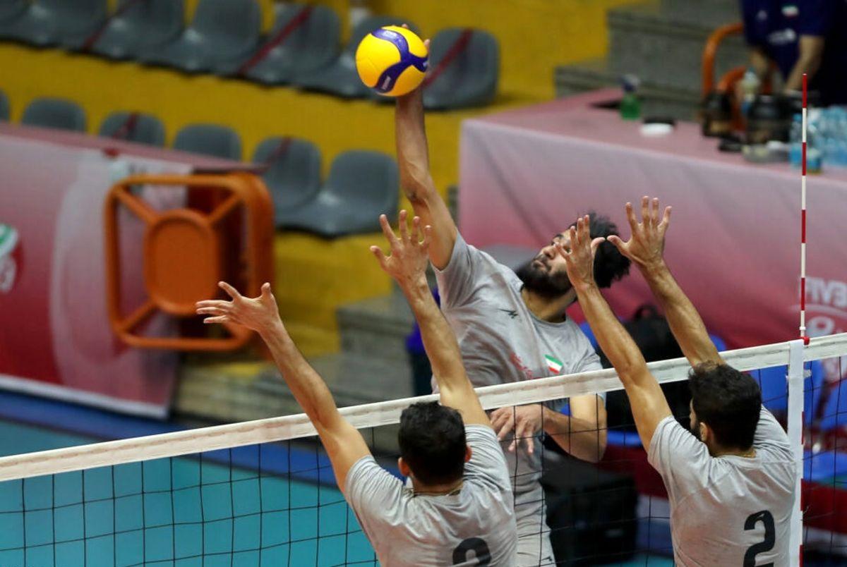 والیبال ایران - هنگ کنگ