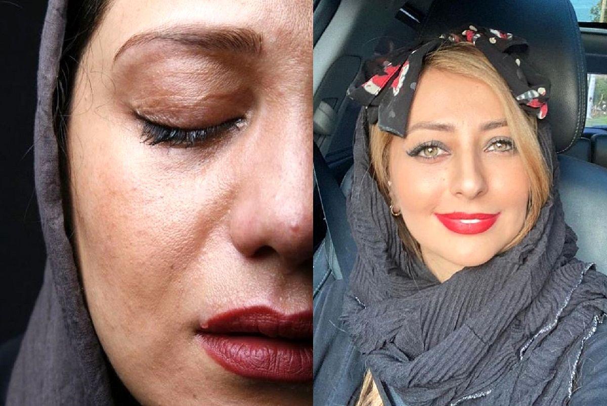 گریه های نفیسه روشن بعد از طلاق ؛ گریه های دردناک!