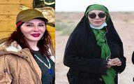 (عکس) تیپ جدید و عجیب افسانه بایگان بدون حجاب!