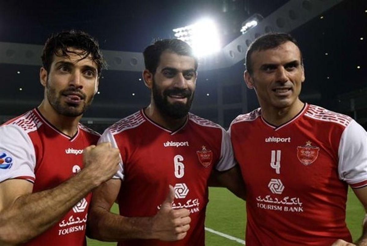 مدافعان پرسپولیس نامزد بهترین مدافع لیگ قهرمانان آسیا شدند