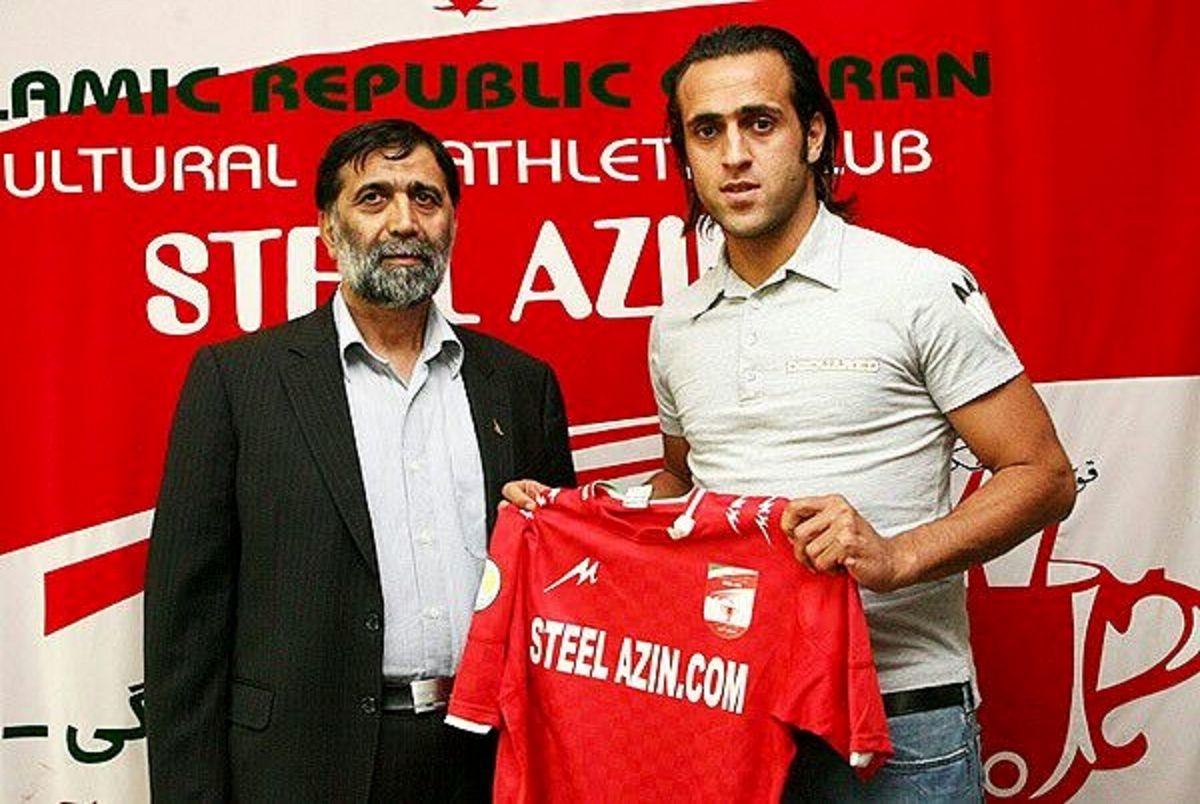 مصطفی آجرلو-علی کریمی