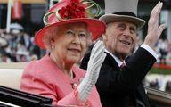ملکه انگلیس بیوه شد
