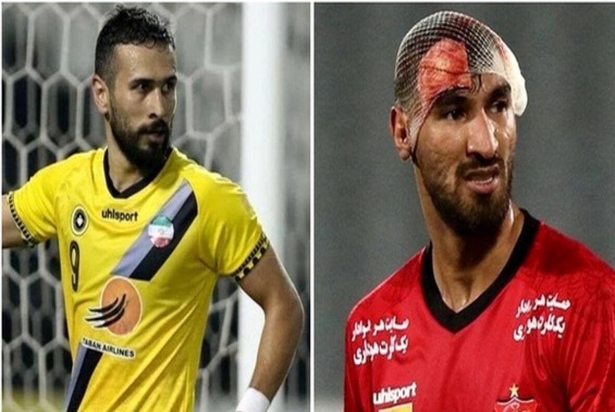 شهریار مغانلو و سجاد شهباززاده