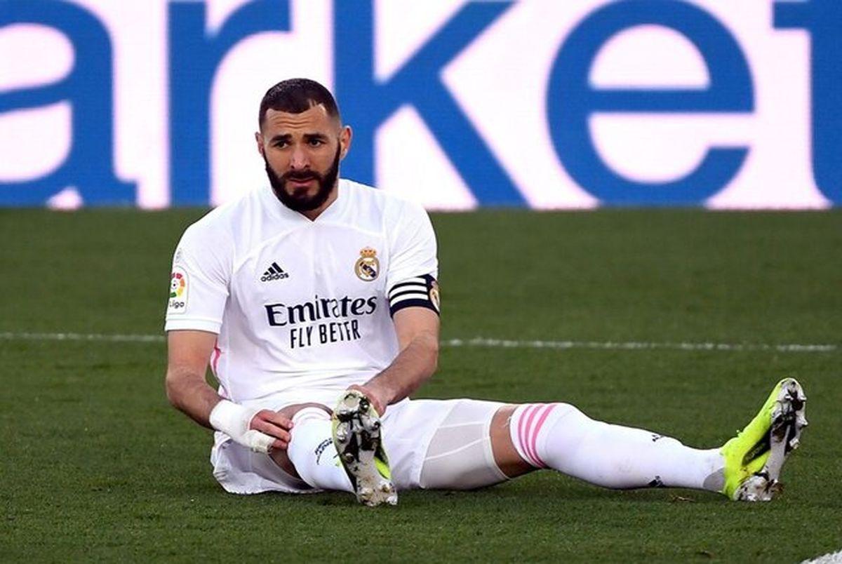 رئال مادرید بدترین تیم لالیگا از نظر تعداد مصدوم