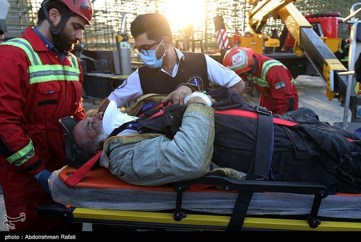ریزش پل تقاطع غیر همسطح در شهر همدان 4 مجروح بر جا گذاشت