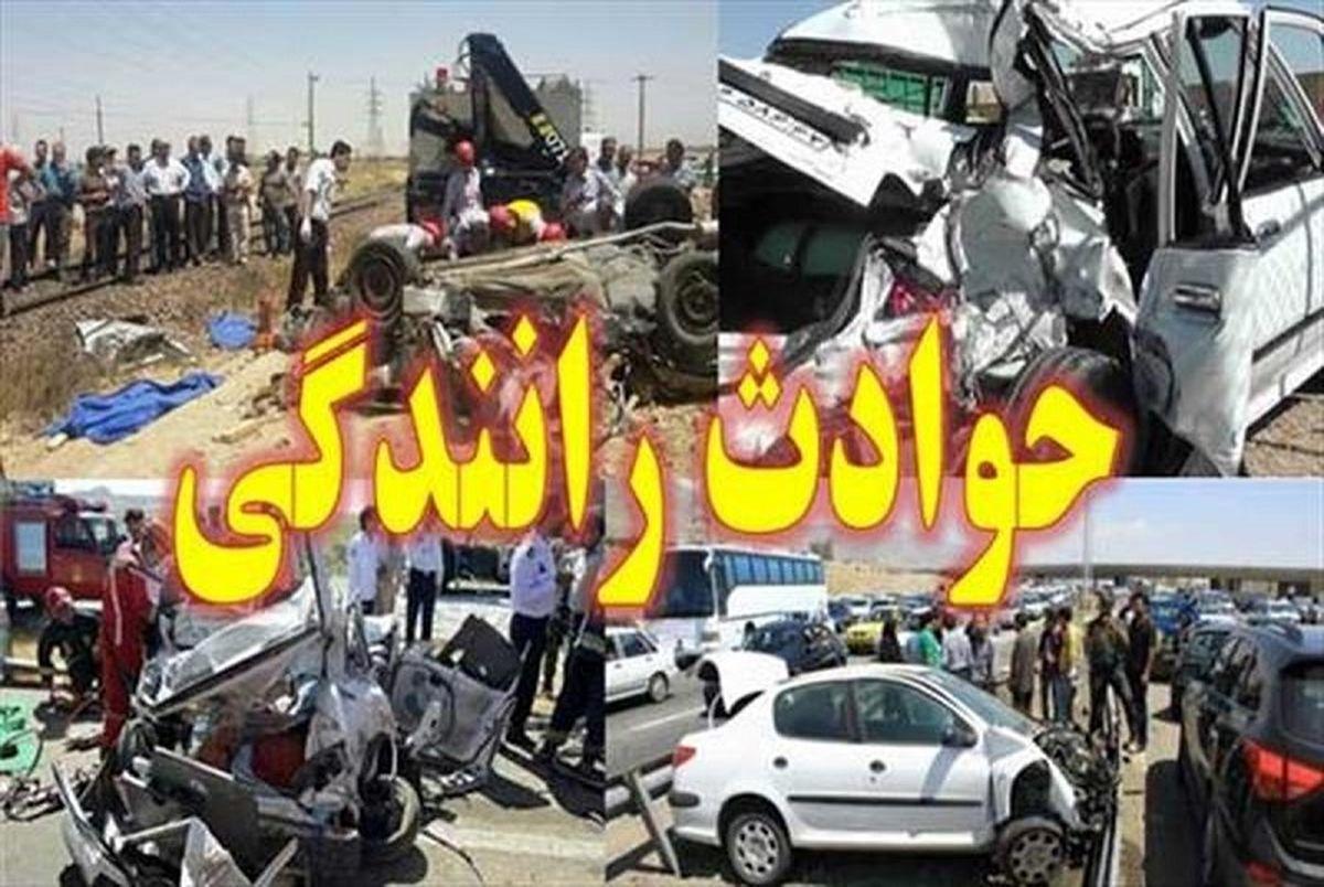 جا شدن 14 زن و مرد در پژو 405 + جزئیات مرگبار