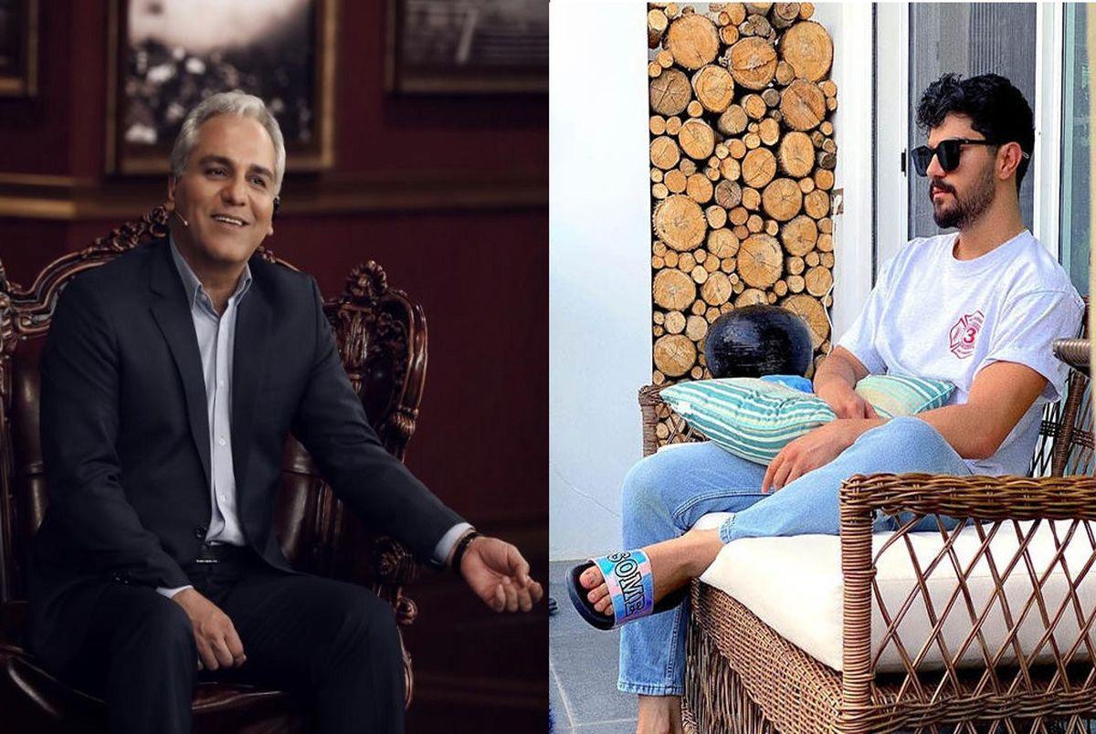 (عکس) با سینا مهراد مهمان جذاب دورهمی مهران مدیری+ بیوگرافی