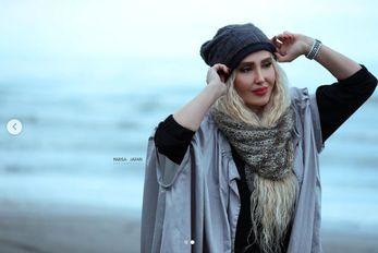 (عکس) زهره فکورصبور کشف حجاب کرد و پلنگ شد!