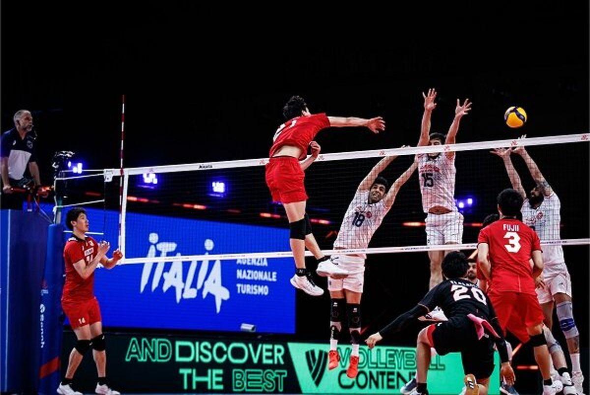 حذف تیم ملی والیبال از المپیک