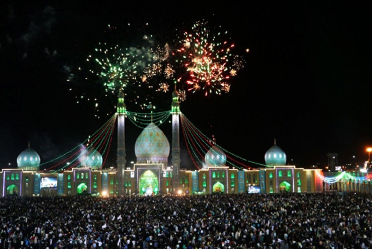جشن با شکوه نیمه شعبان در مسجد جمکران
