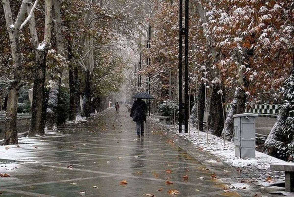 هشدار هواشناسی درباره آغاز بارش برف و باران + جزئیات