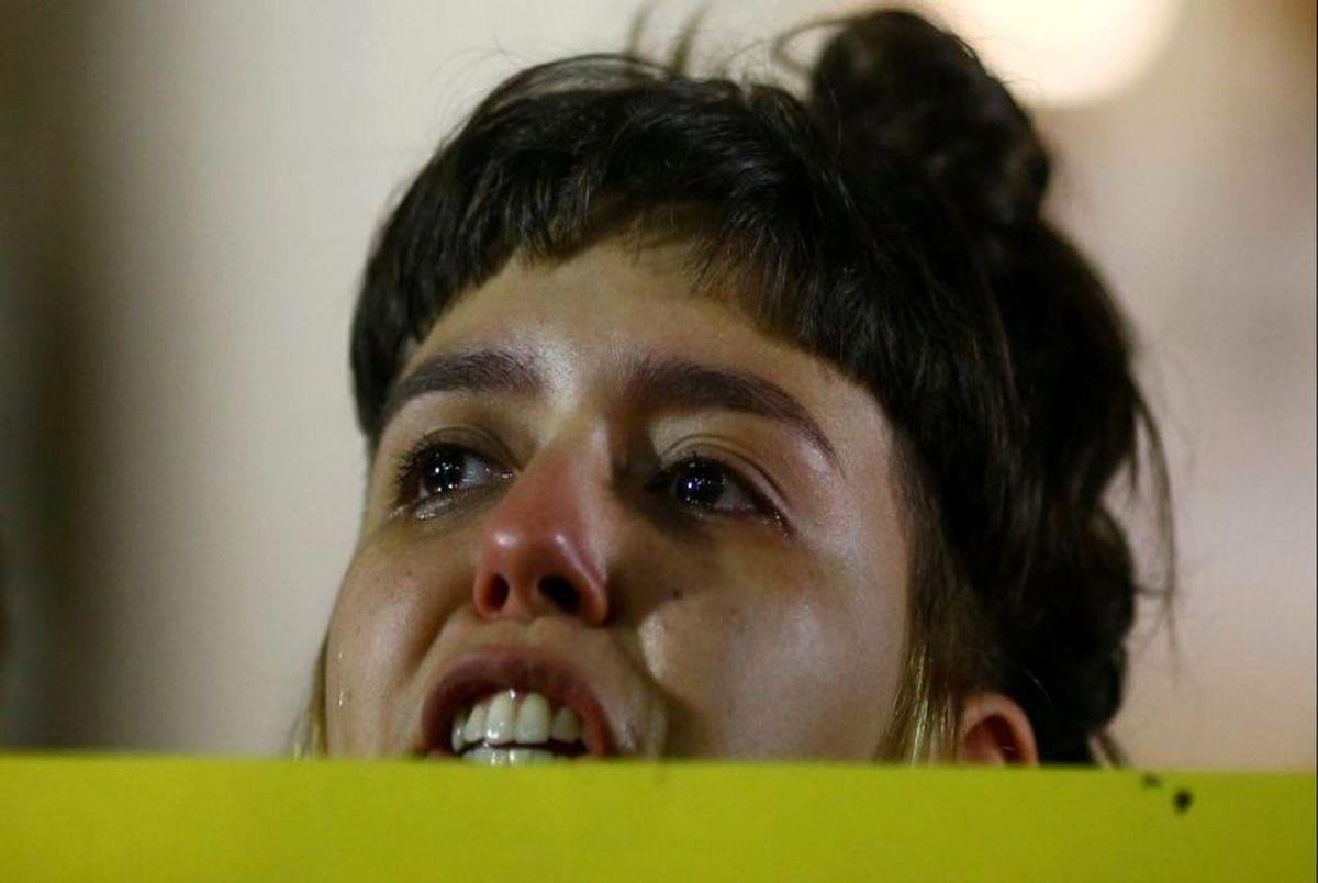 تجاوز دردناک به یک زن در پارک + عکس