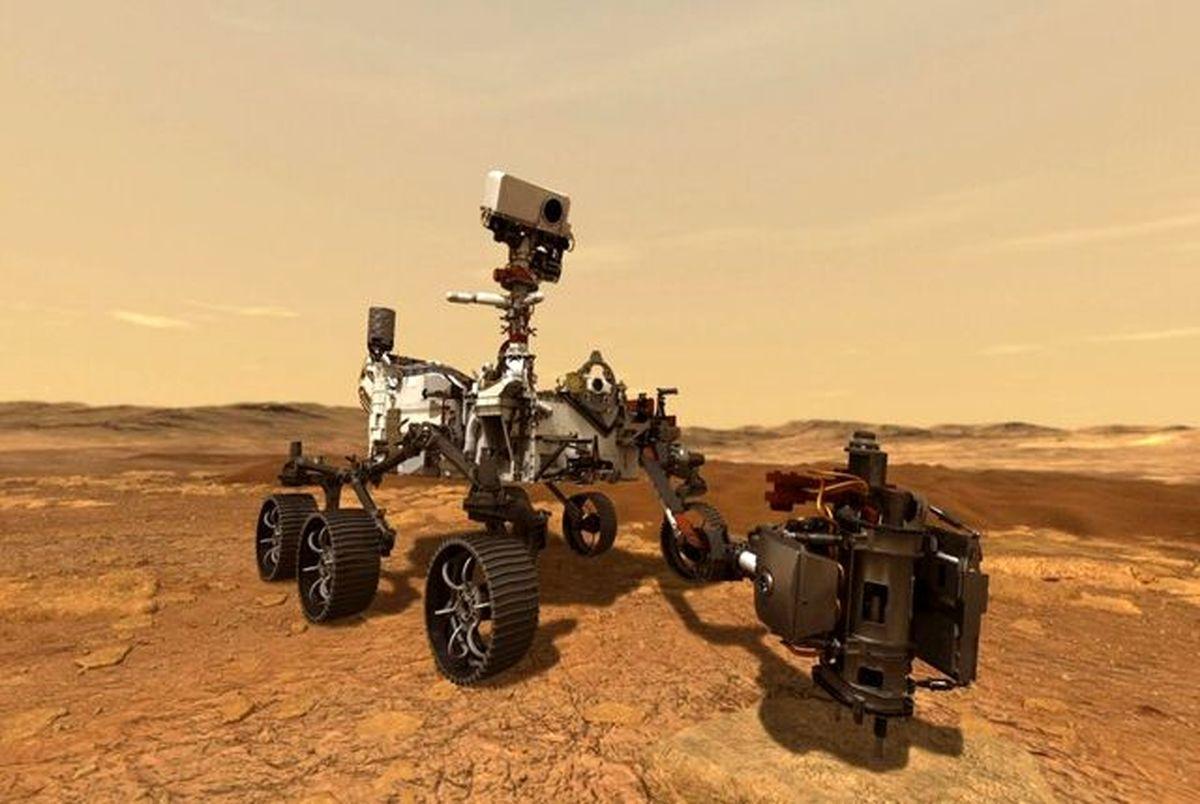 فیلم جدید لحظه فرود کاوشگر استقامت بر سطح مریخ منتشر شد
