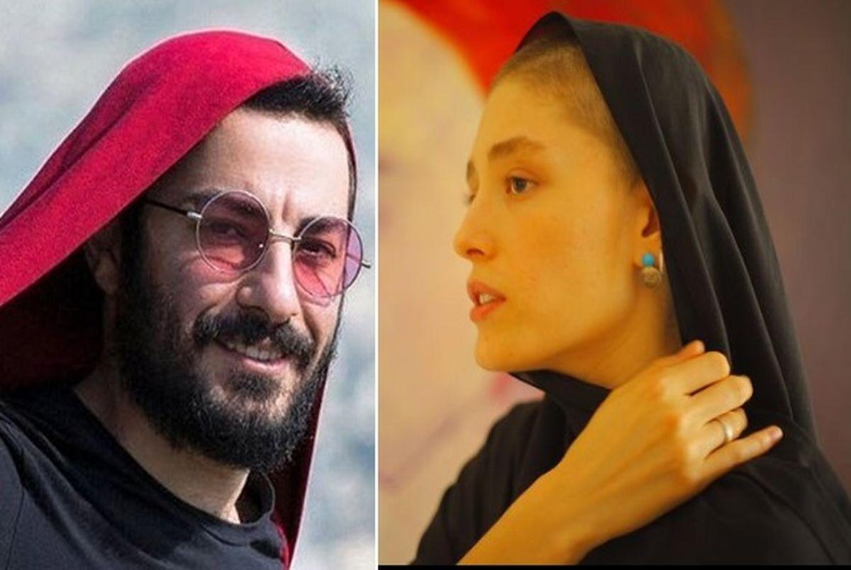 فرشته حسینی و نوید محمدزاده؛ از ست کردن لباس تا عاشقانه های خاص!
