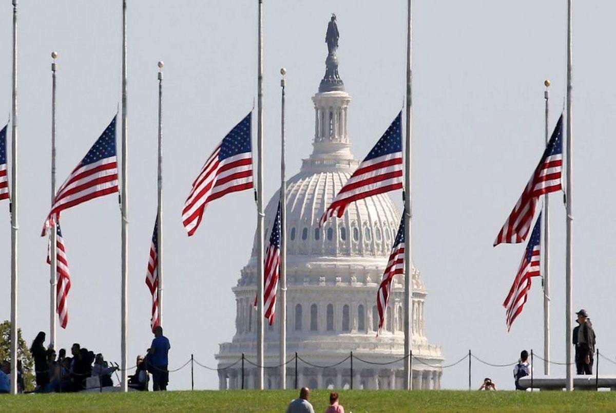 نیمه افراشته شدن پرچم آمریکا برای چیست؟