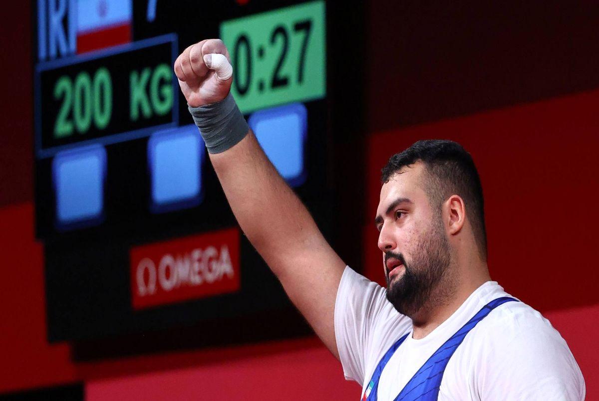 Ali Davoudi of Iran