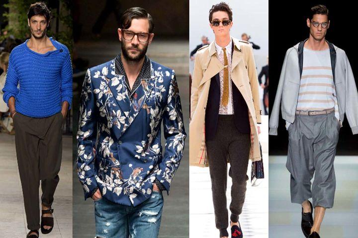جدید ترین لباس های مردانه در هفته مد پاریس