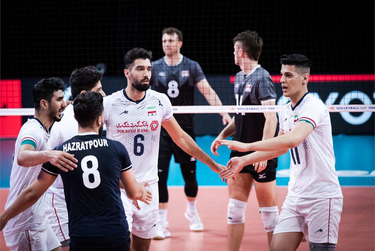 والیبال ایران – آمریکا