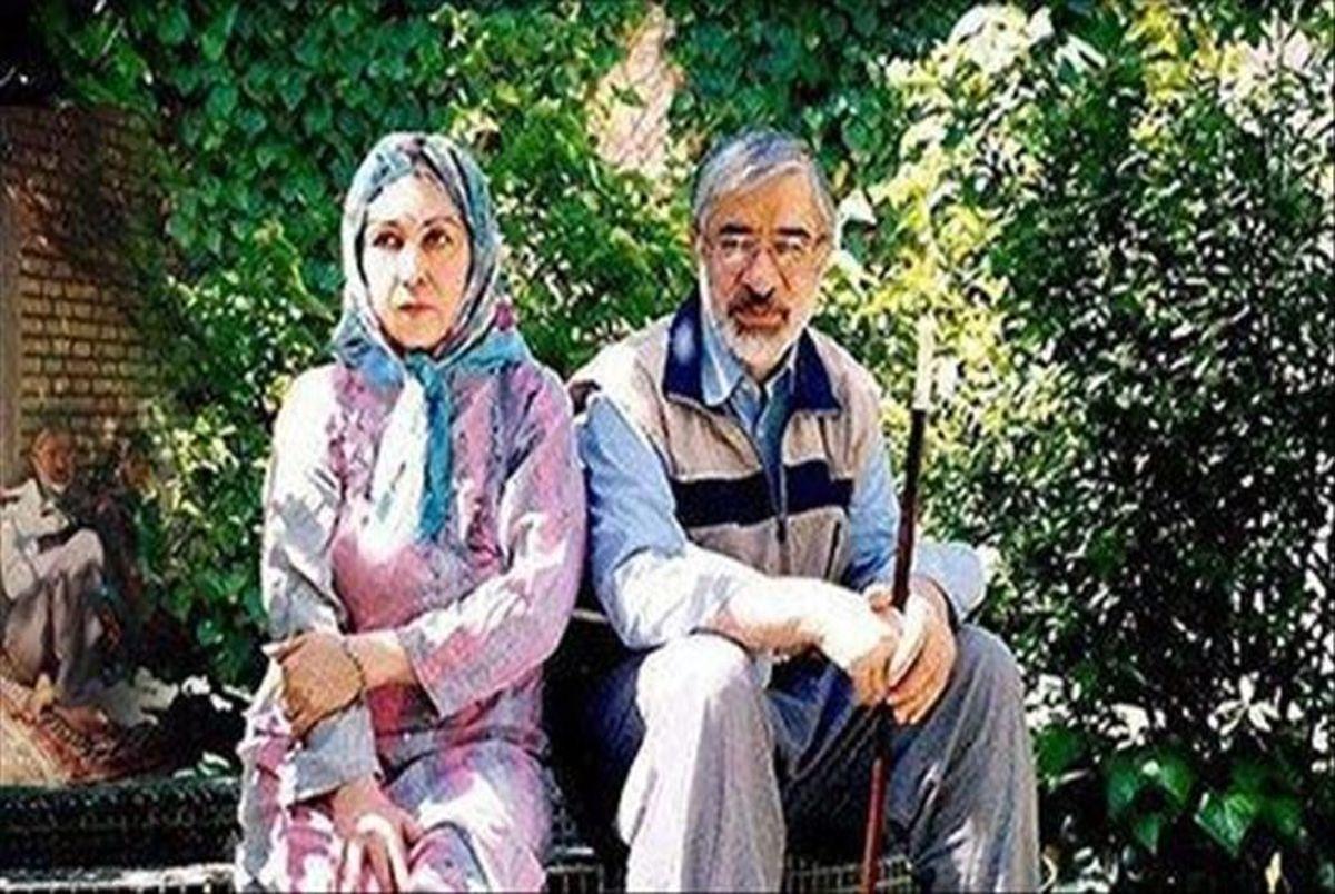 میرحسین و زهرا رهنورد با سیدهادی خامنه ای گفتگو کردند